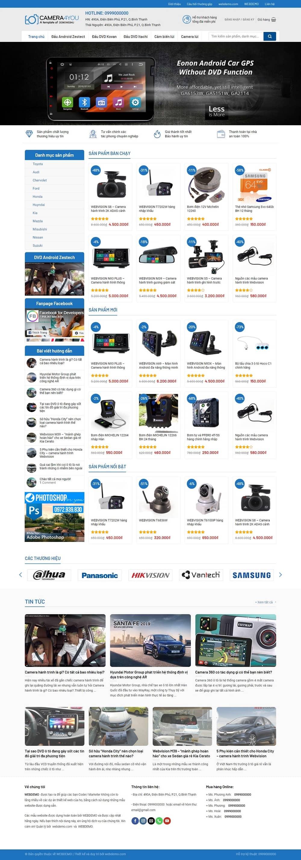Website Ban Camera Quan Sat 2