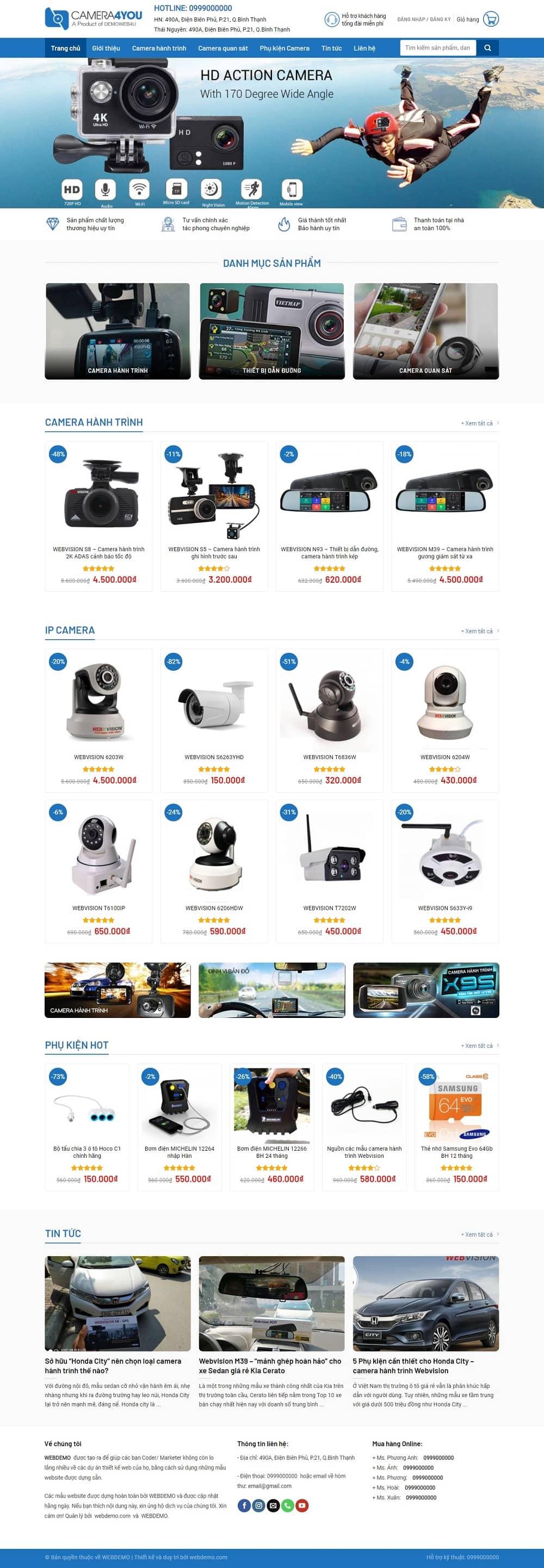 Website Ban Camera Quan Sat